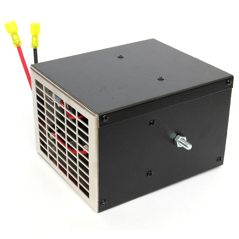 12 Volt Dc Duct Fan : V w non ducted electric cab heater ebay