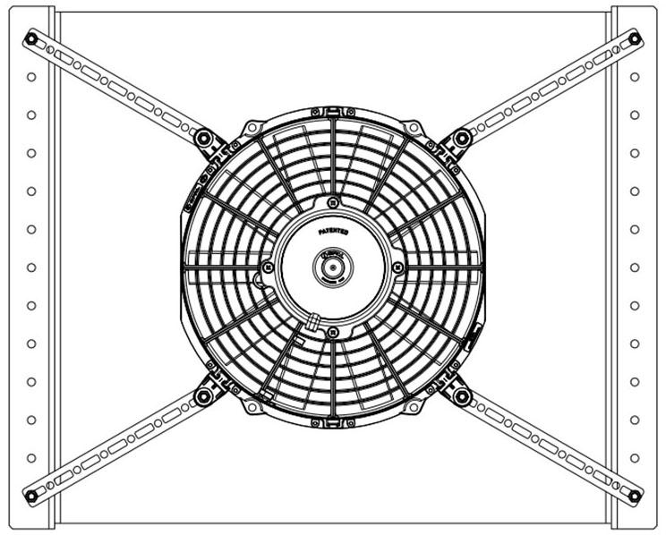 Bracket & Strap Installation Diagram