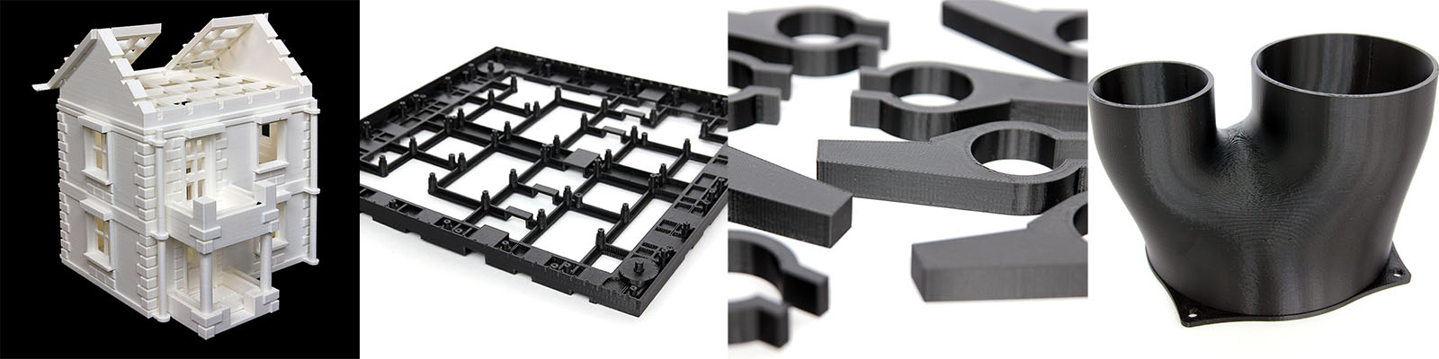 3D Printing Service Examples of previous 3D Printed parts for customers and for T7Design.