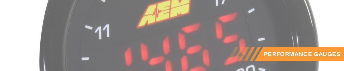 AEM Performance Digital Gauges