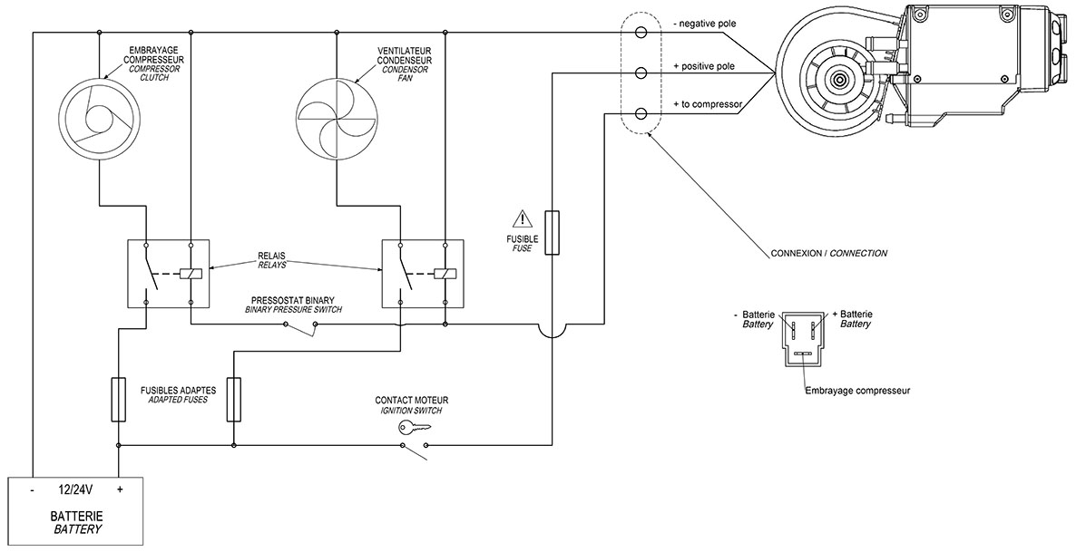 Compact Air Conditioning Wiring Diagram