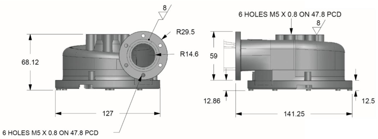 12v Davies Craig Electric Engine Cooling Pump