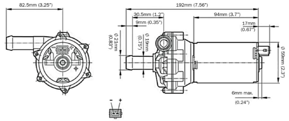 davies craig ewp electric water pump ebp23 litre per hour