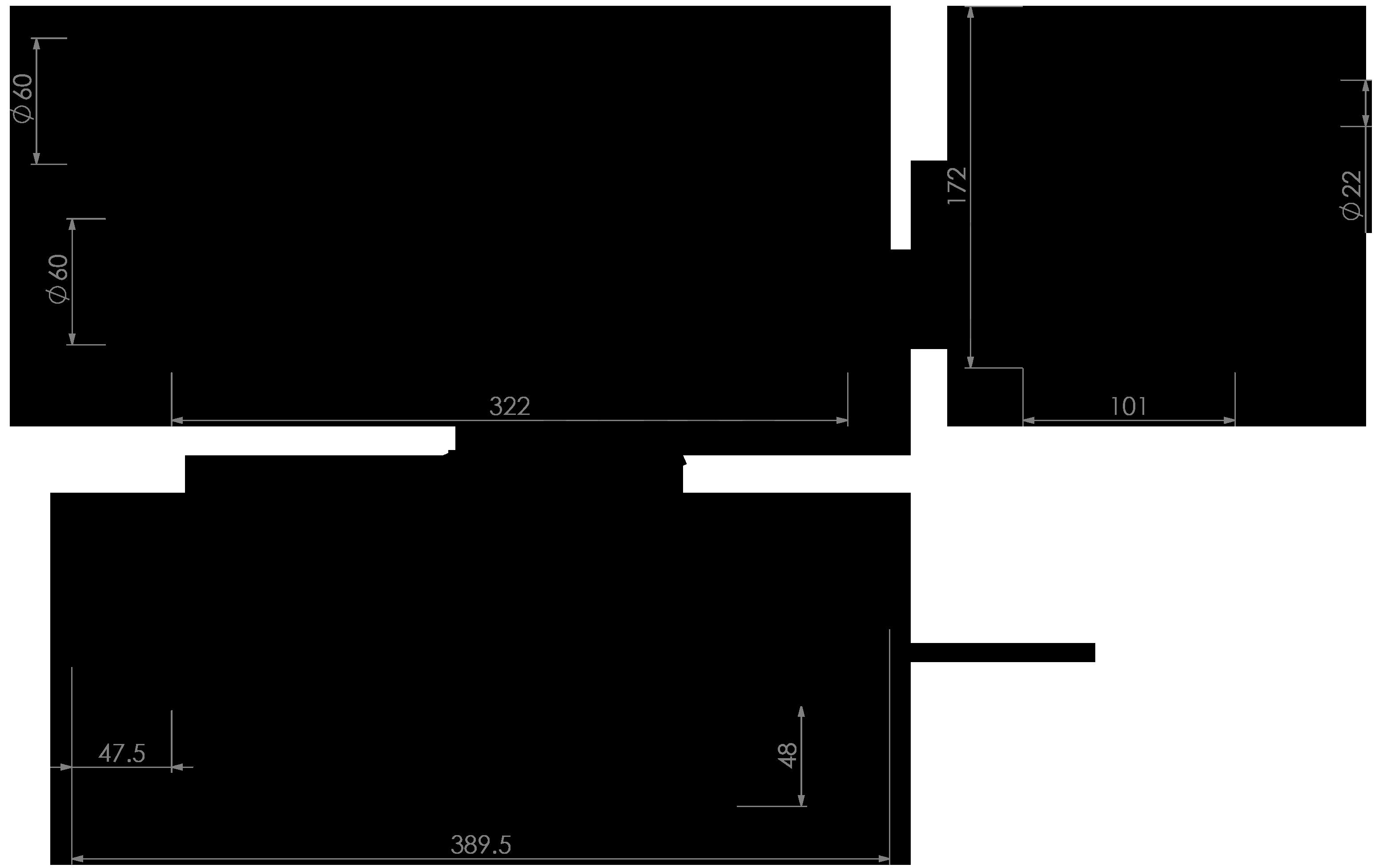 Propex Heatsource HS2000 Dimensions