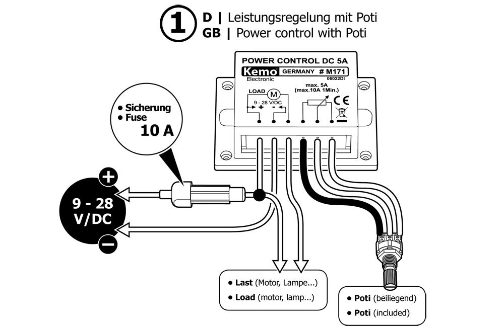 12v    24v 10a pwm dc fan controller  m171  heater fan  dimmer  digital
