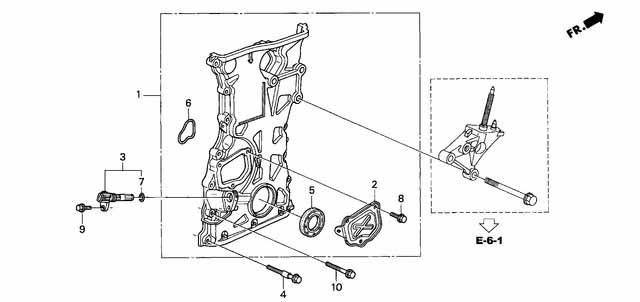 Titanium Honda K20 Timing Chain Cover Bolts